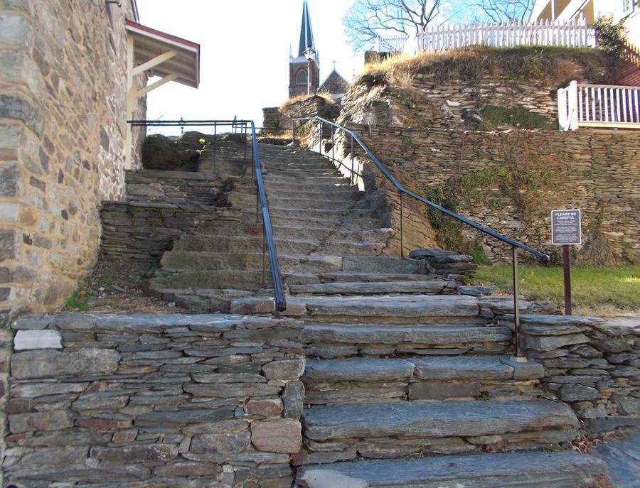 Stairs to the Church by SlothxKuriKara