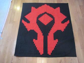 Warcraft Horde Crest by quiltoni
