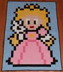 Princess Peach Quilt