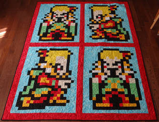 Kefka Quilt by quiltoni