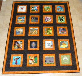 2014 Child's Play Charity Quilt 1 by quiltoni