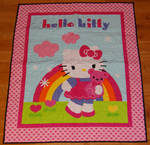 Hello Kitty Lap Quilt