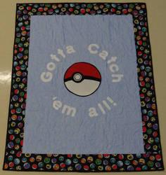 Pokemon Applique quilt