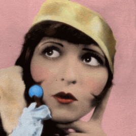 Clara Bow by LaBelleMonsieurEdwin