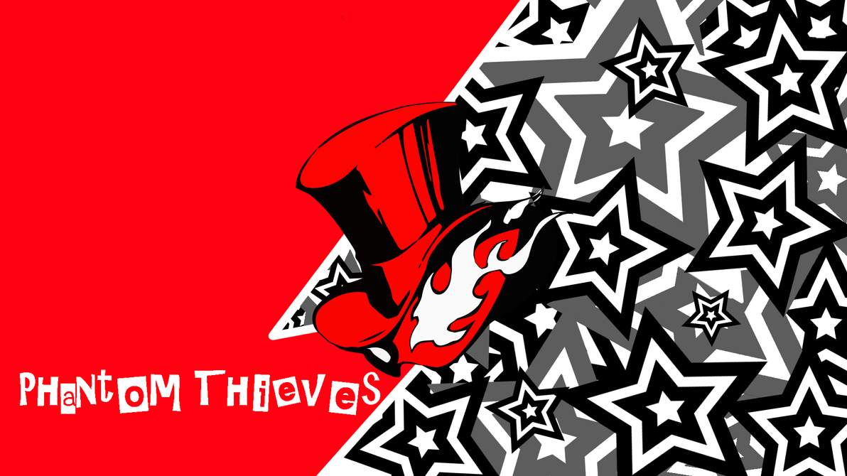 Persona 5 Phantom Thieves Wallpaper Text By Ape1ron