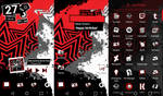 Persona 5 Android theme! (Tutorial in the Desc.)