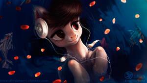 Octavia - bathing in sound - wallpaper (edited)