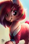 Amy- Art trade with MACKINN7