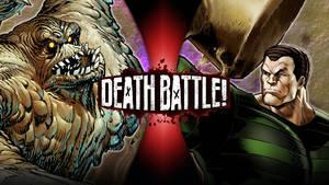 DEATH BATTLE: Clayface vs Sandman
