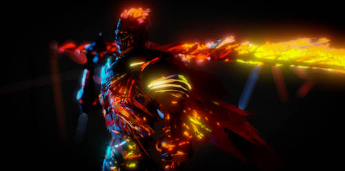 Tilt Brush vrhuman Dark Souls 3 Soul of Cinder
