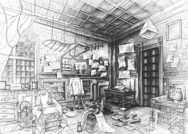 Leonardo Da Vinci lab by Kosa666