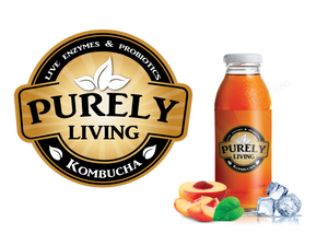 Purely Living Logo Bottle Mockup 2