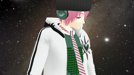 [MMD] VY2 Yuuma #1 by TheAngelOutside