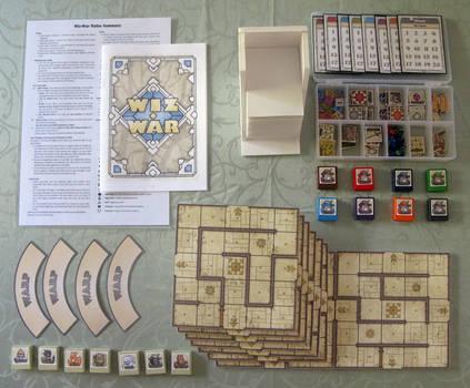 Wiz War boardgame 2