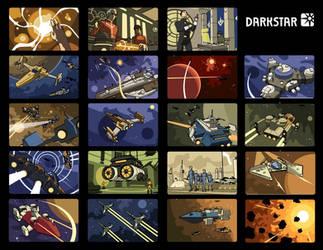 Darkstar illustrations by ilya-b