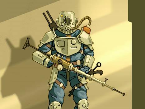 Steel warden
