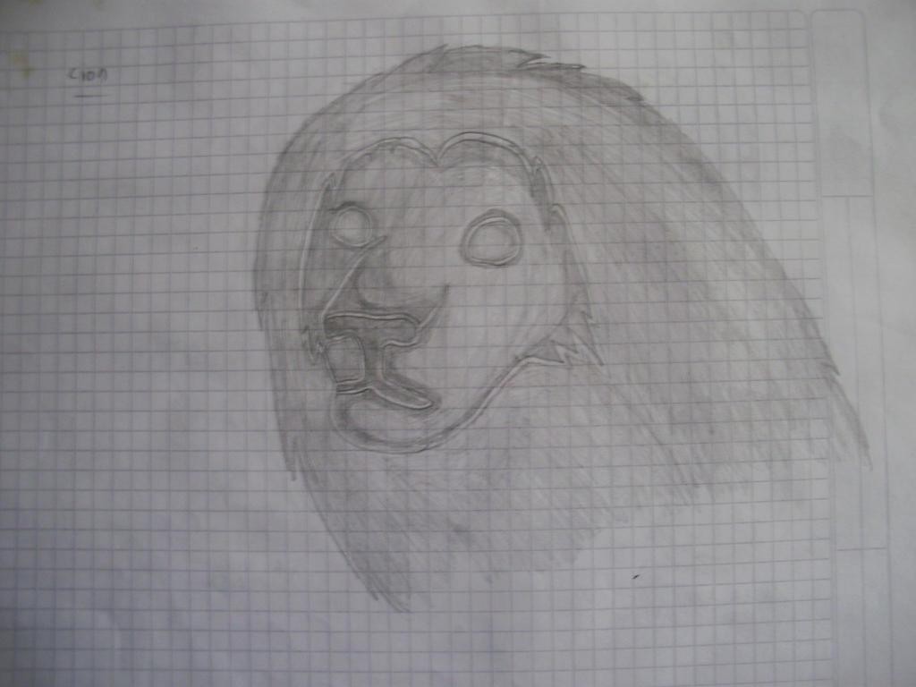 Galería de Urucita - Página 2 A_lion_by_urucita-d863c4o