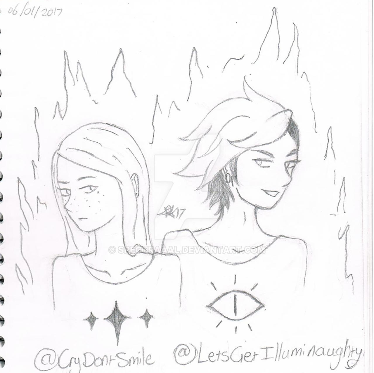 Cry and Bill (unfinished) + updated by CryDontSmile