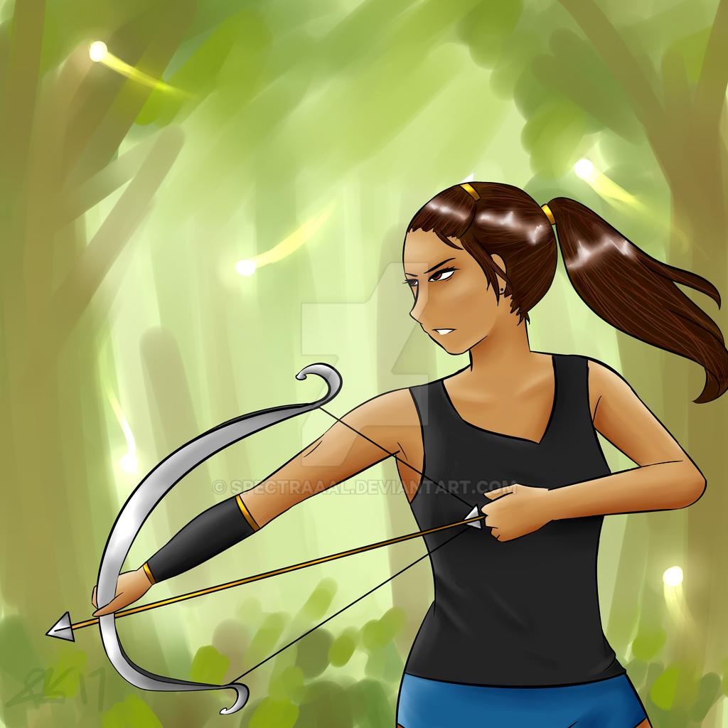 Archery - Jade Smith (DGM OC) by CryDontSmile