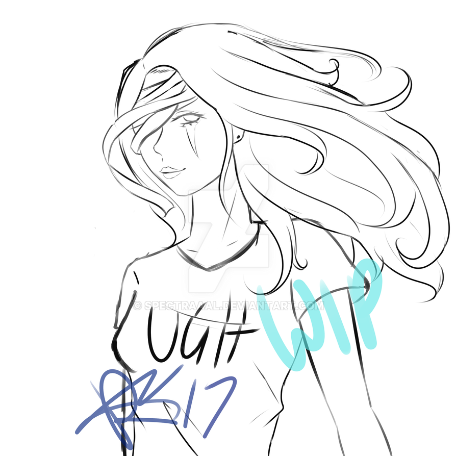 New Character WIP by CryDontSmile