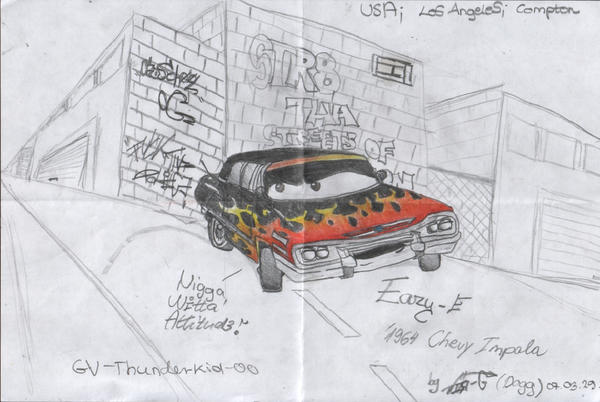 Eazy E Cartoon: Eazy-E Drawing 02 By Vir-G On DeviantArt