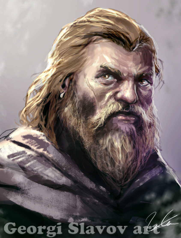 Dwarf portrait by G-manbg on DeviantArt Daario Naharis Fan Art
