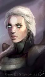 Diana League of Legends portrait by G-manbg