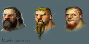 Dwarf face designs