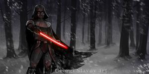 Dramatic Vader by G-manbg