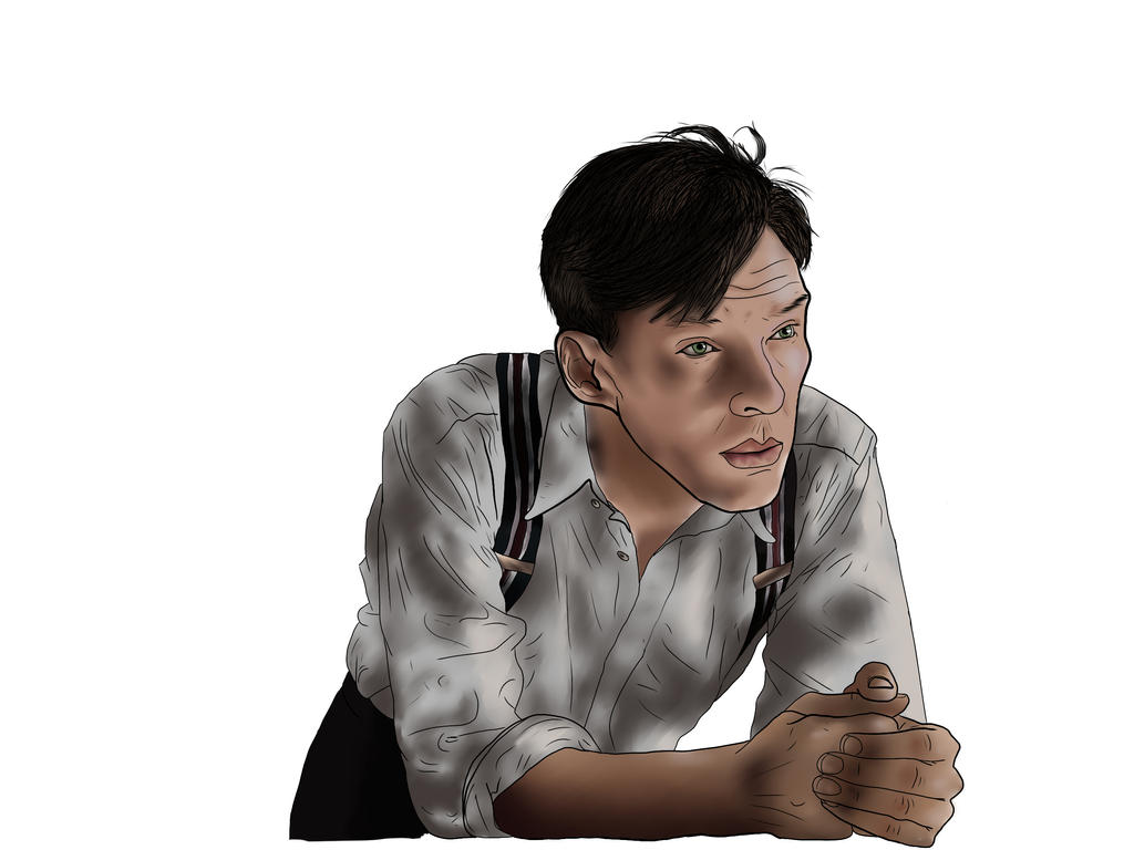 Alan Turing (Benedict Cumberbatch) by CoolCourtney