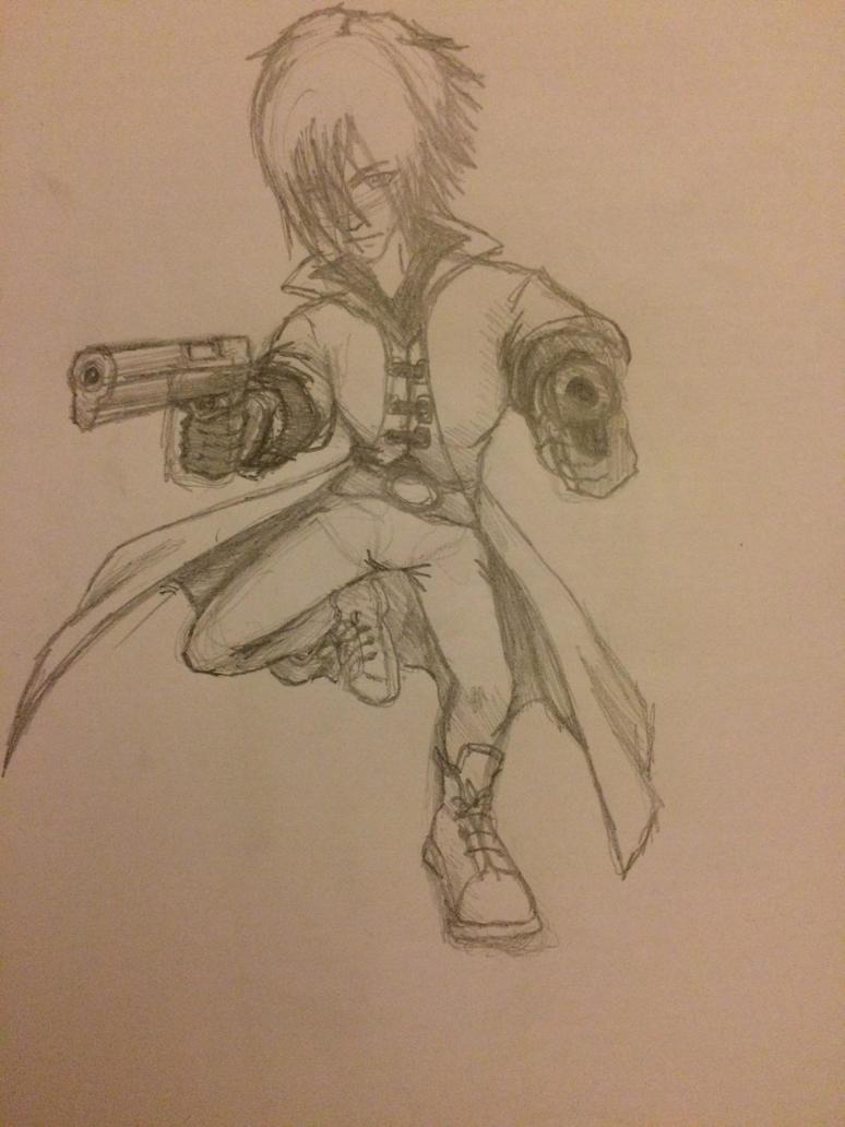 Dante (Sketch) by CoolCourtney