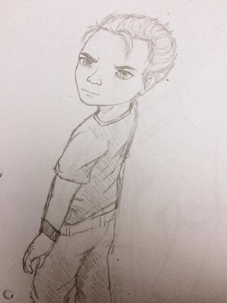 Kid Vergil Junior (Sketch) by CoolCourtney