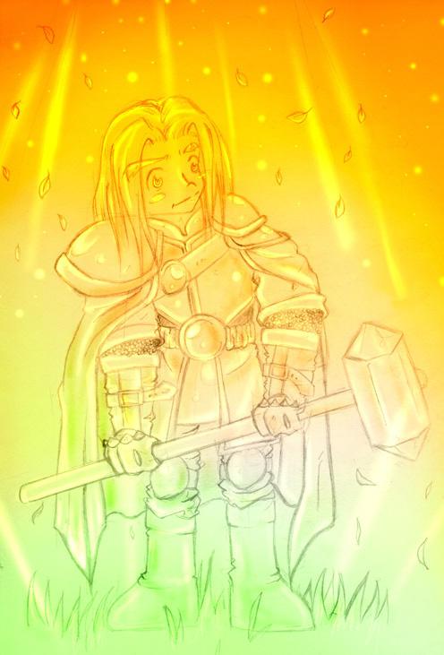 Prince Arthas by labpizza