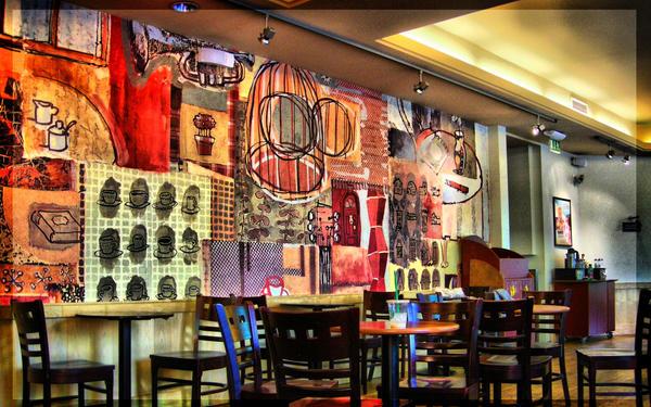 Арт кафе Inside_the_Starbucks_by_gerenko