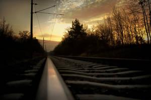 Railway by gerenko