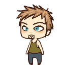 Daryl Dixon shimeji preview by joeythir13en