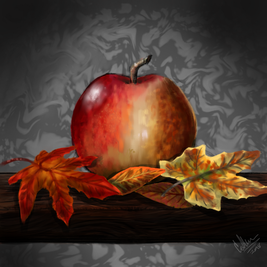 a bit of fall by twilightwhitewolf