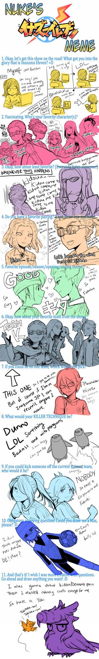 Inazuma Eleven Meme yaayyyy by Cezaria
