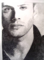 Jensen in Shadow/Supernatural by hsr62