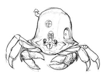 Hermit's Crab by BigYellowBird