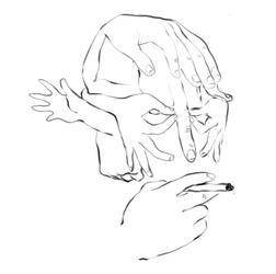 Face: in Hands