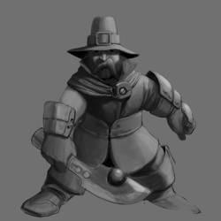 Dwarf Battlemage