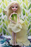White Fairy Queen OOAK Doll by EvaWitch