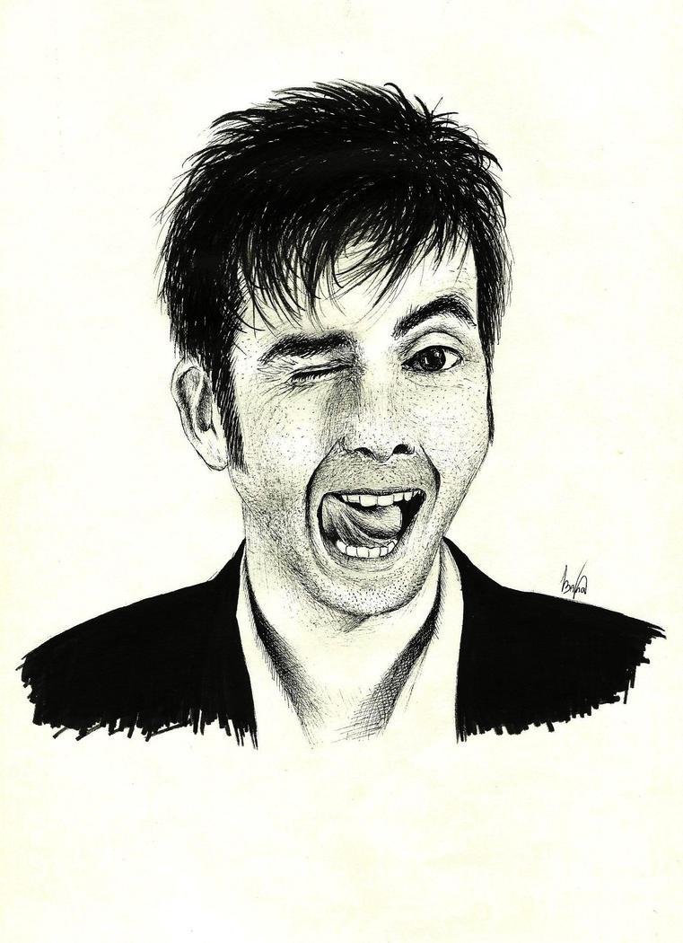 David Tennant (Dr Who) by AnnaDarkWalker