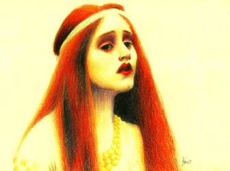 Lady of Shalott by AnnaDarkWalker