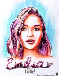 Portrait of Emilia Clarke #1.2