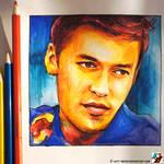Portrait of Daniil Kvyat #3 (racing driver)