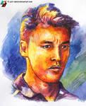Portrait of Daniil Kvyat #5 (racing driver)