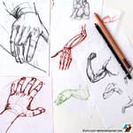 Sketches of hands #1
