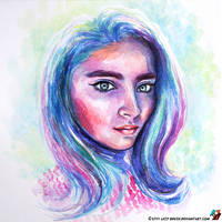 Portrait of Dara Avramenko by lazy-brush